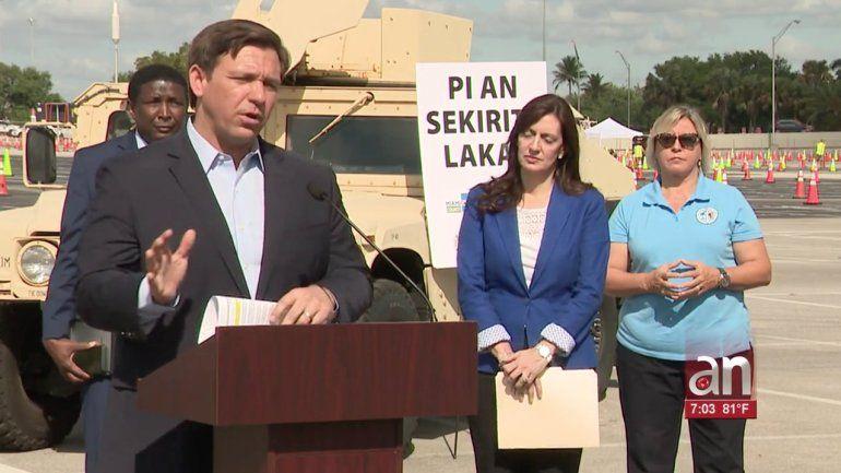 Gobernador de Florida dictó la cuarentena obligatoria para todos los habitantes del estado