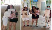 Llega a Miami desde Cuba la niña Emily junto a su madre para recibir tratamiento médico