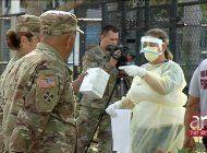 la prueba del vinagre: militares estadounidenses aplican un sencillo test para intentar detectar el coronavirus sin fiebre