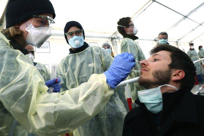 Alemania empieza con buen pie la lucha contra el virus
