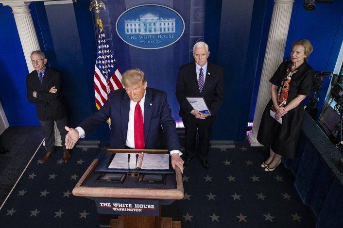 Informe diario sobre coronavirus: Trump a sus anchas