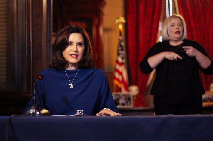 Aliados de Trump le piden no reñir con gobernadora