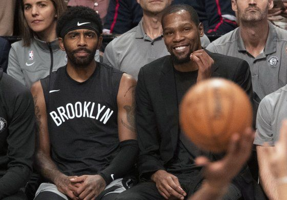 Nets no descartan a Durant e Irving si la NBA se reanuda