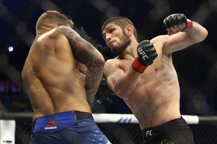 Khabib se niega a romper cuarentena; no peleará en UFC 249