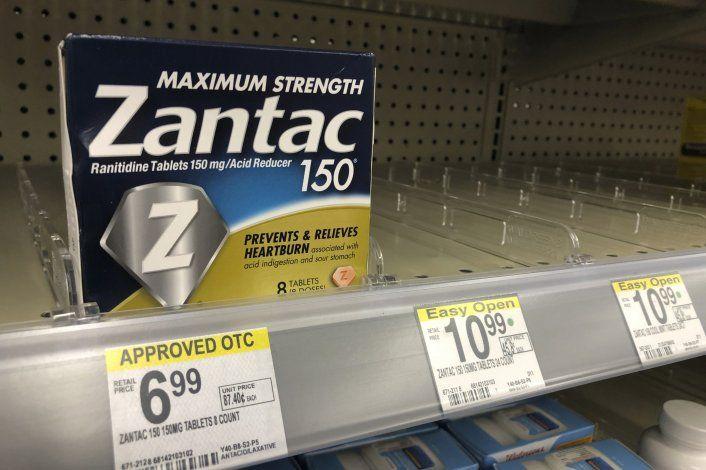 EEUU: Ordenan retirar antiácidos por contener contaminante