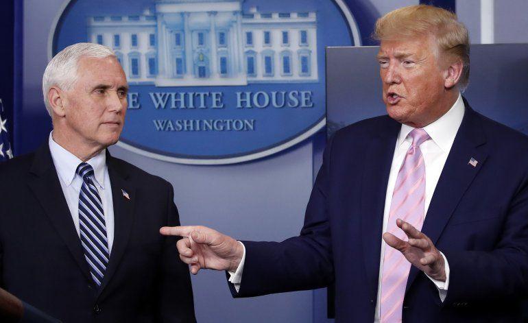 Trump cambia contradictoria opinión sobre China en la crisis