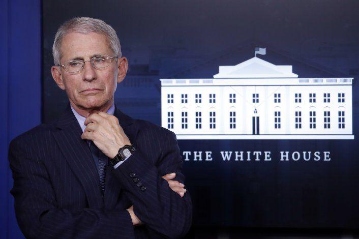 Máxima autoridad de EEUU contra pandemia recibe amenazas