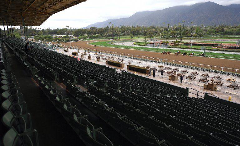 7ma muerte de equino en Santa Anita desde diciembre