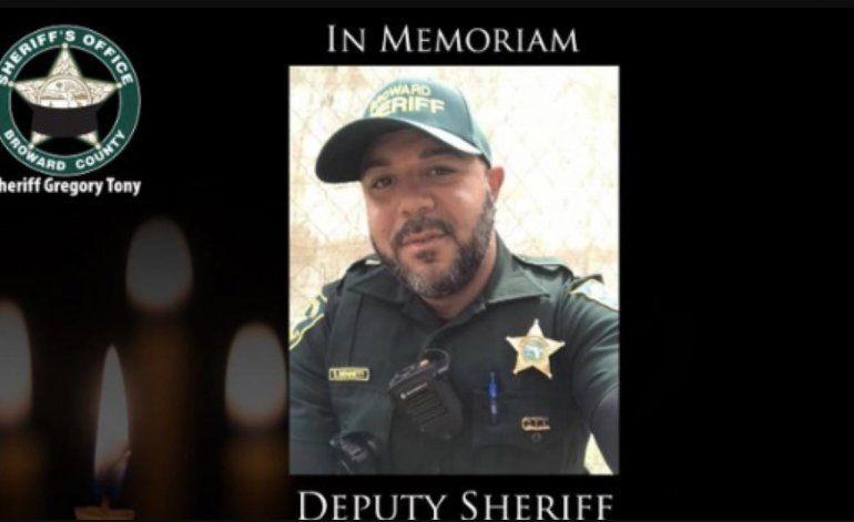 Oficial del Sheriff de Broward muere por COVID-19