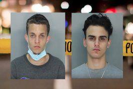 capturan a los dos jovenes de hialeah que habian robado buzones de correo en esa ciudad