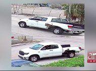 policia de hialeah busca a un conductor que huyo de la escena de un choque