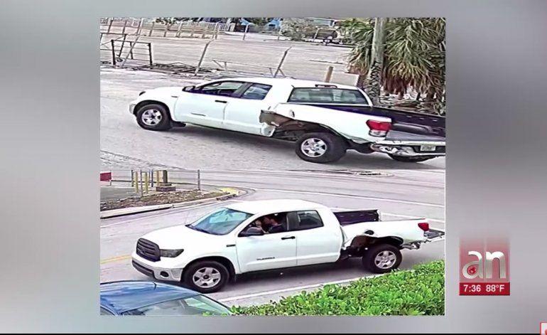 Policía de Hialeah busca a un conductor que huyó de la escena de un choque