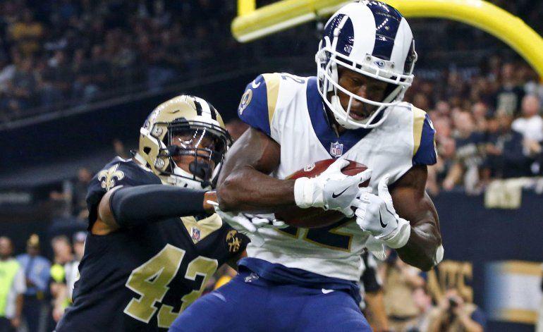Fuente AP: Rams ceden a Brandin Cooks en canje con Texans