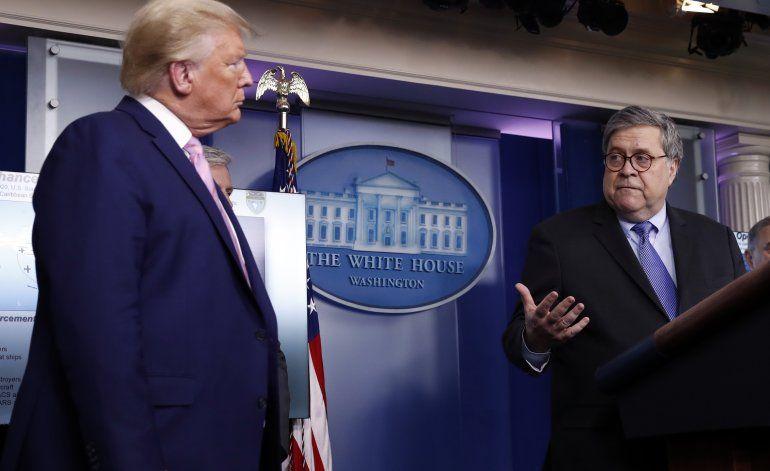 """Barr: La pesquisa sobre Rusia se inició """"sin fundamentos"""""""