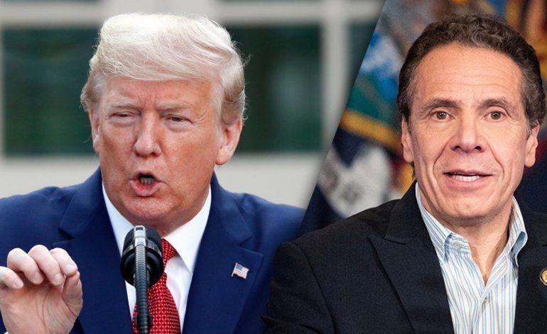 Donald Trump se reunió en la Casa Blanca con el gobernador de Nueva York, Andrew Cuomo