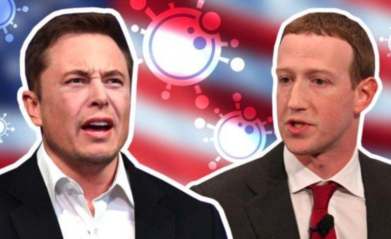 Tienen que devolver a la gente su maldita libertad: el choque entre Elon Musk y Mark Zuckerberg por la duración de la cuarentena