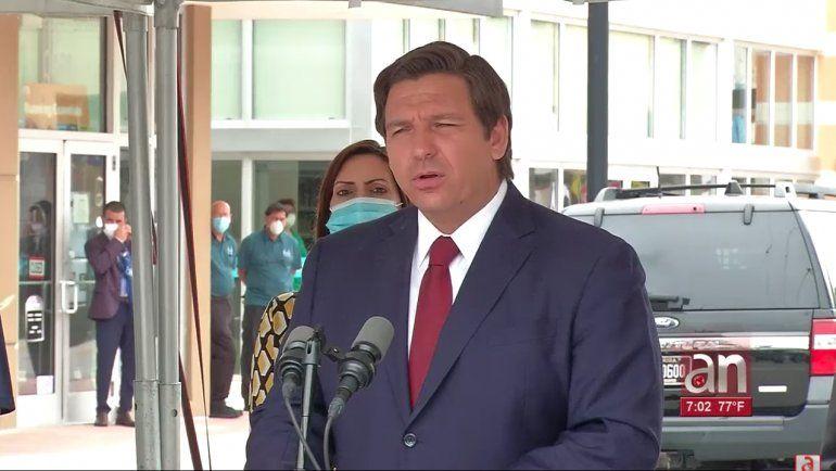 El gobernador de la Florida, Ron Desantis, dio luz verde para la reapertura de Miami-Dade y Broward