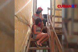 familia cubana siente mas peligro en la cuarentena en su casa que en las calles por coronavirus