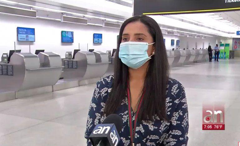 Aeropuerto de Miami se prepara para la reapertura