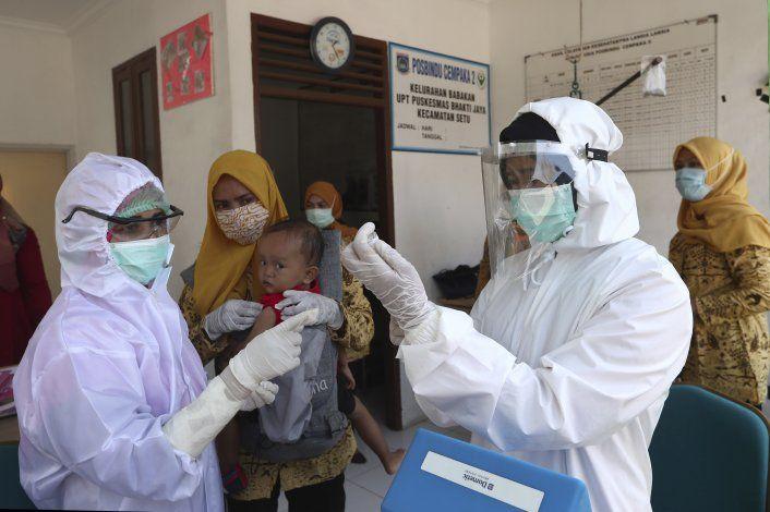 Pandemia detuvo la vacunación de casi 80 millones de niños