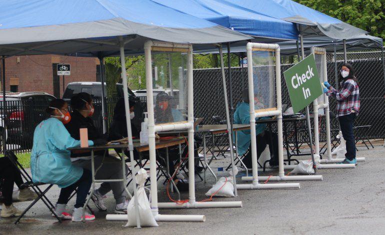 Altas tasas de coronavirus en barrio hispano de Chicago