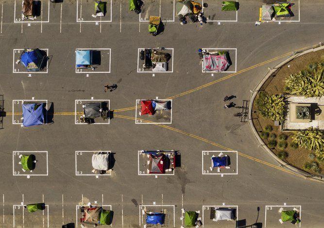 San Francisco permite ahora asentamientos para sin techo