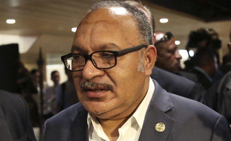 Arrestan a expremier de Papúa Nueva Guinea por corrupción
