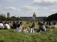 un domingo solitario en el abierto de francia