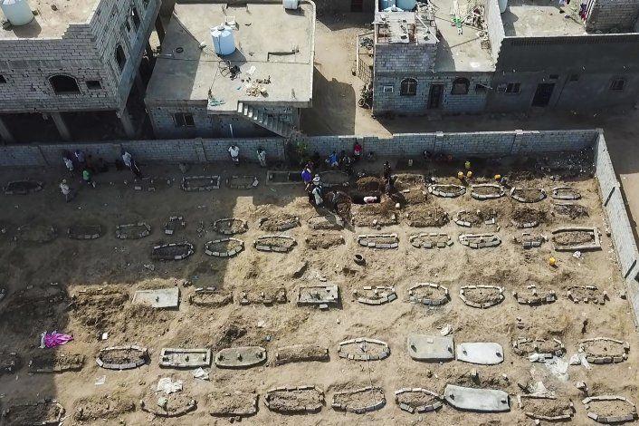 Registran alza de muertes en Yemen durante la pandemia