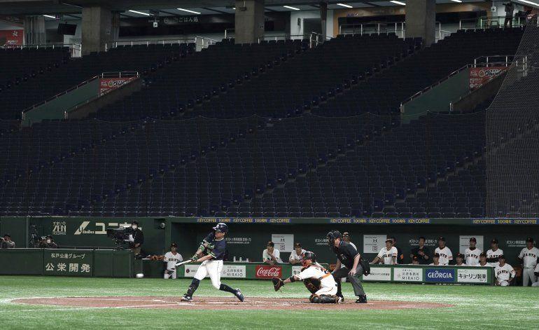 Liga japonesa de béisbol comenzará el 19 de junio