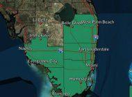 alerta de inundacion en el sur de la florida hasta las 3:00 p.m. aviso vigente hasta el martes