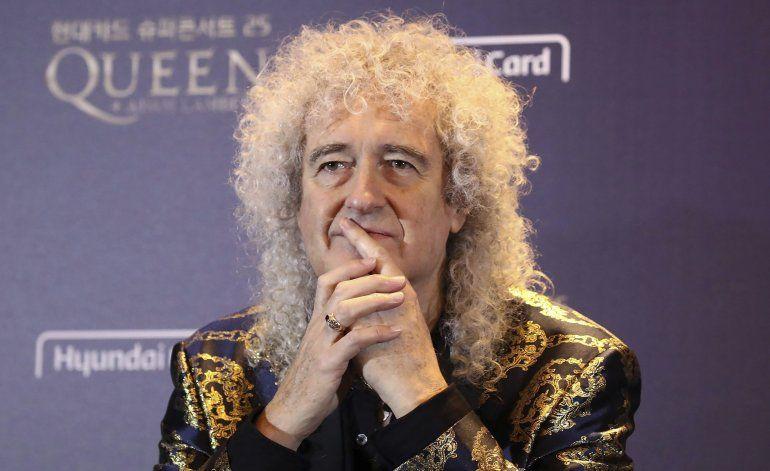 Brian May revela que tuvo un ataque cardiaco reciente