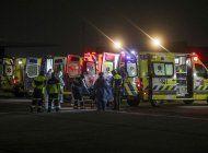 colapsa hospital chileno por falta de camas para uso critico