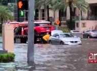 las lluvias de las ultimas 48 horas han dejado inundaciones en el condado miami-dade
