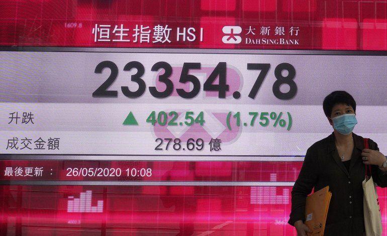 Wall Street sube por esperanzas de recuperación económica