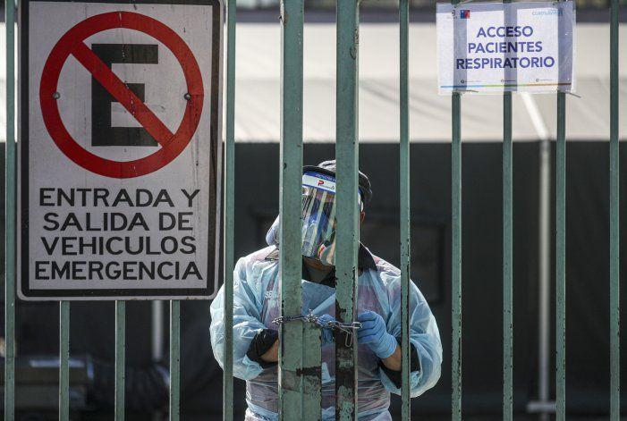 Sigue difícil dilema en Chile: ¿a quién dar la última cama?
