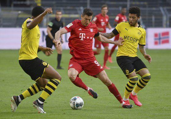 Bayern vence al Dortmund y se acerca al título