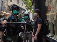 protestas en hong kong por ley sobre el himno nacional