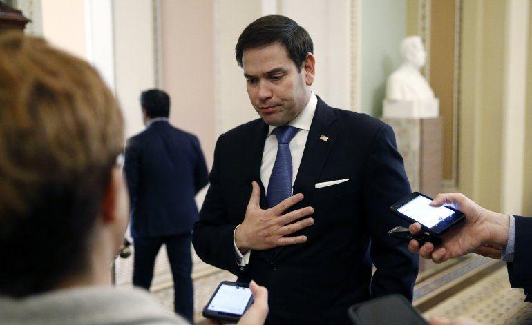 Rubio: extranjeros detrás de teorías conspirativas en EEUU