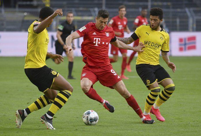 El Dortmund se queda corto en clave encuentro ante el Bayern