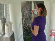 instalan en miami un tunel de desinfeccion con ozono para combatir el coronavirus