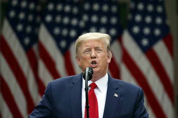 Trump anuncia que EEUU cortará lazos con la OMS