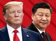 trump actua contra china por covid-19, hong kong y visas