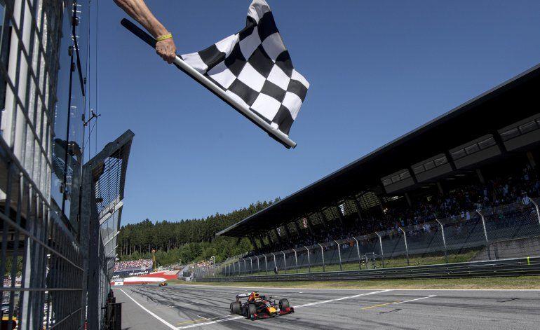 Austria aprueba plan de seguridad para 2 carreras de F1