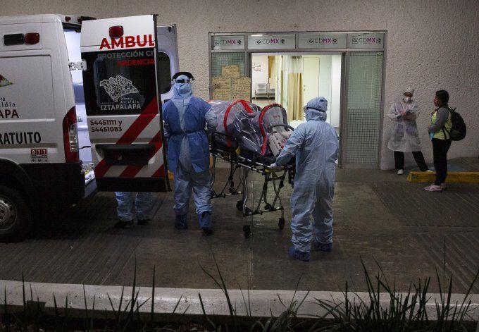México: así viven paramédicos la emergencia por el COVID-19