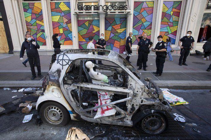Ciudad de Nueva York impone toque de queda por violencia