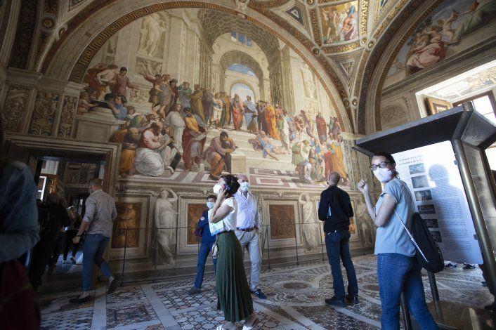 Museos famosos reabren en Europa