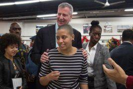 arrestaron a la hija del alcalde de nueva york por protestar por la muerte de george floyd