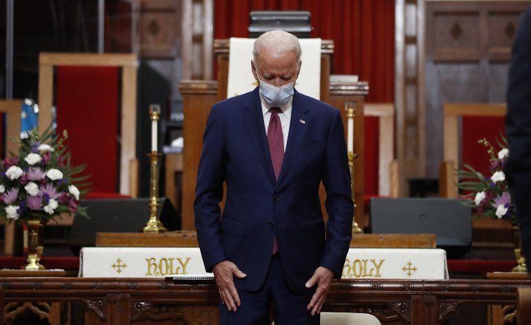 Joe Biden promete hacer frente al racismo institucional