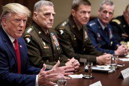 trump promete desplegar militares si los estados no pueden controlar los disturbios